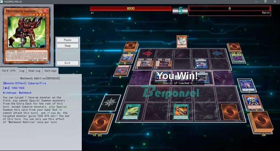 Game YGOPRO untuk Android, iOS dan PC Gratis