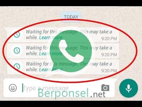 bagaimana cara mengatasi whatsapp pending