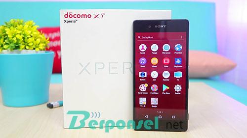 Harga dan Spesifikasi Sony Xperia Z3 Docomo