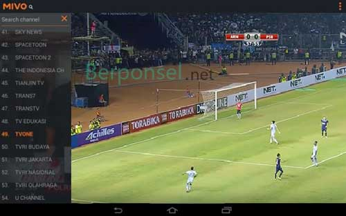 Aplikasi TV Streaming Online Bola Android Terbaik