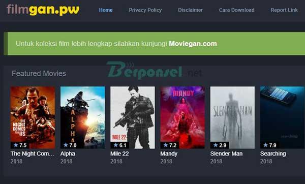Situs download film populer