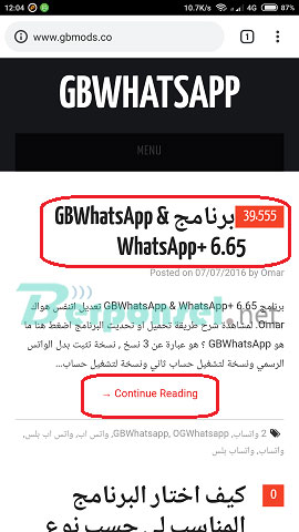 cara mudah install whatsapp di tablet andorid