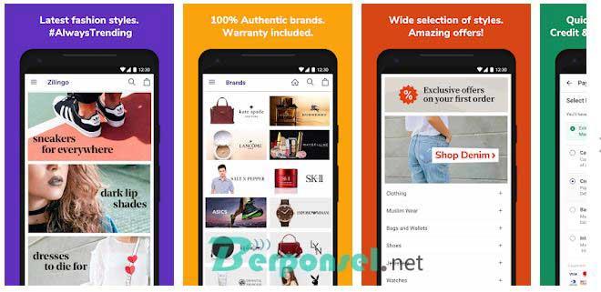 Aplikasi Belanja Baju Online