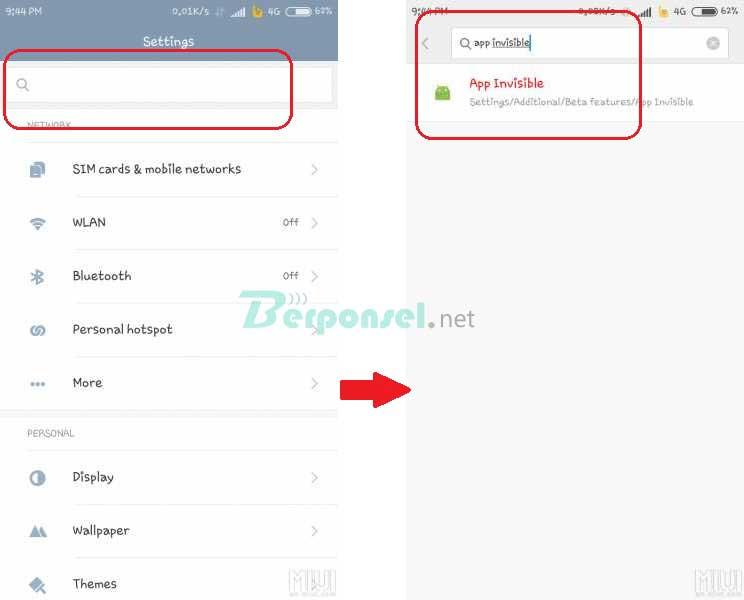 Cara Hide Aplikasi di HP Android Xiaomi dengan Mudah