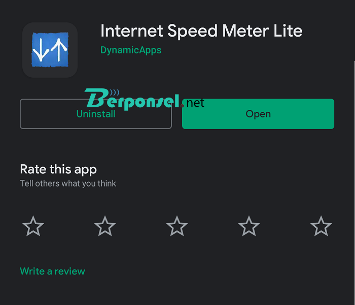 Cara Menampilkan Kecepatan Internet di Hp Android
