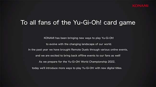 Game Yu-Gi-Oh! Master Duel